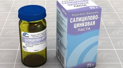 Салицилово-цинковая паста от потливости: показания, правила применения, противопоказания