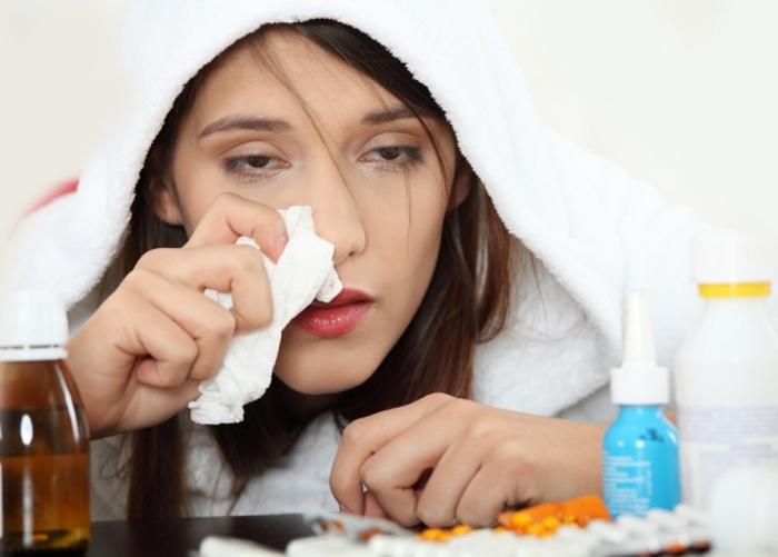 Потливость при болезни орви