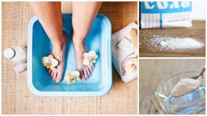 Лечение ног от пота и запаха народными средствами